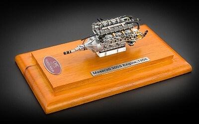 MASERATI 300S ENGINE 1956