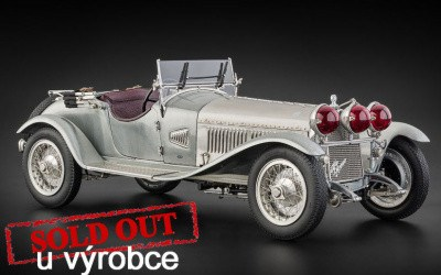 ALFA ROMEO 6C 1750 GS 1930 CLEAR FINISH LIMITED EDITION 1000 PCS.