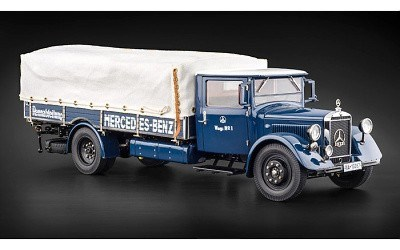 MERCEDES-BENZ RACING CAR TRANSPORTER LO 3750 1934-1938