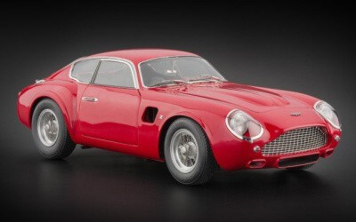 ASTON MARTIN DB4 GT RED LIMITED EDITION 1000 PCS.