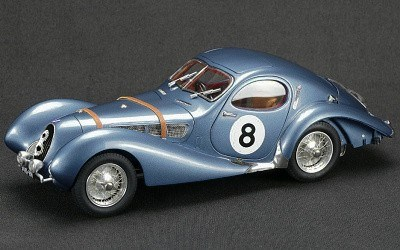 TALBOT LAGO COUPÉ T150 C-SS FIGONI & FALASCHI TEARDROP RACING VERSION 24 HOURS LE MANS 1939 LIMITED EDITION 1500 PCS.