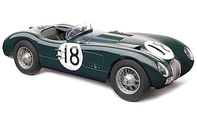 jAGUAR C TYPE No. 18 WINNERS 24 HOURS LE MANS 1953 LIMITED EDITION 1500 pcs.