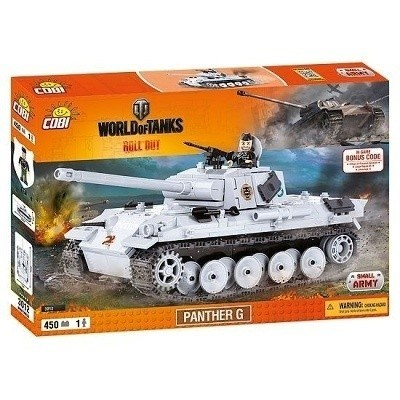 COBI 3012 SMALL ARMY WORLD OF TANKS PANTHER G