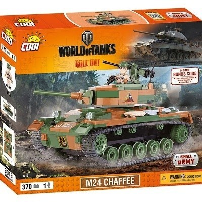 COBI 3013 SMALL ARMY WORLD OF TANKS M24 CHAFFEE