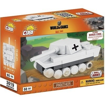 COBI 3019 SMALL ARMY WORLD OF TANKS BONUS CODE NANO TANK