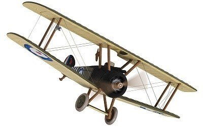 LETADLO SOPWITH CAMEL F.1 B6313 MOJOR WILLIAM GEORGE BILY BARKER RAF No. 139 SQUADRON ITALY SEPTEMBER 1918 LIMITED EDITION