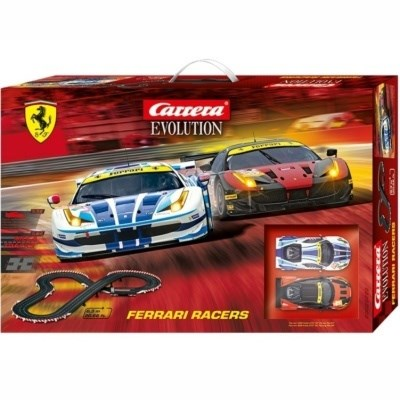 AUTODRÁHA CARRERA EVOLUTION 25222 FERRARI RACERS