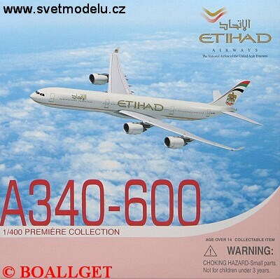 AIRBUS A340-600 AIRWAYS ETIHAD THE NATIONAL AIRLINE OF THE UNITED ARAB EMIRATES