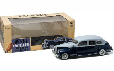 PACKARD SUPER EIGHT ONE-EIGHTY 1941 BLUE / SILVER
