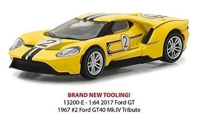 FORD GT 2017 #2 FORD GT40 Mk.IV 1967 TRIBUTE