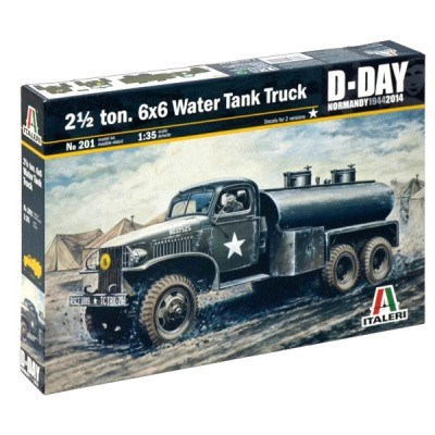 2 1/2 TON 6x6 WATER TANK TRUCK D-DAY NORMANDY 1944