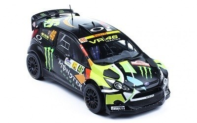 FORD FIESTA RS WRC #46 V. ROSSI - C.CASSINA MONZA RALLY 2012