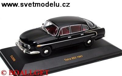 TATRA 603 1961 BLACK