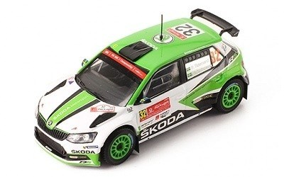 ŠKODA FABIA R5 #32 WINNER WRC2 RALLY DE PORTUGAL 2017
