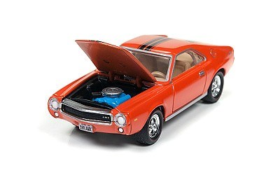 AMC AMX 1969 ORANGE