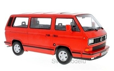 VOLKSWAGEN T3 BUS WHITE STAR 1993 RED L.E. 500 PCS.