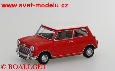 MINI MORRIS COOPER S MK-1 RED
