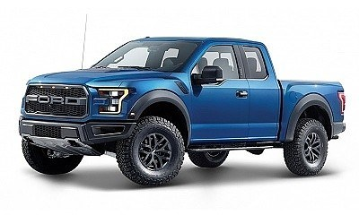 FORD RAPTOR 2017 BLUE