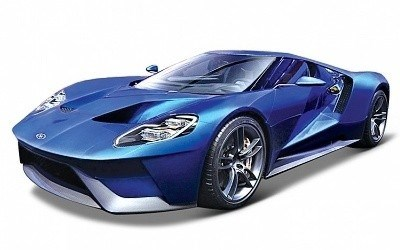 FORD GT 2017 BLUE EXCLUSIVE EDITION