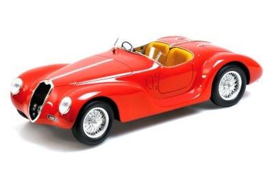 ALFA ROMEO 6C SS CORSA SPIDER 1939 COLOUR RED L.E. 999 pcs.