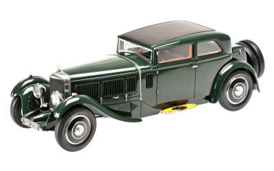 BENTLEY SPEED SIX CORSICA COUPE 1930 BRITISH RACING GREEN L.E. 500 pcs.