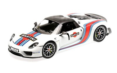 PORSCHE 918 SPYDER 2013 W/ WEISSACH PACKAGE MARTINI L.E. 1500 pcs.