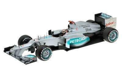 MERCEDES AMG PETRONAS F1 TEAM W03 MICHAEL SCHUMACHER 300TH GP BELGIAN GP 2012 L.E. 1140 pcs.