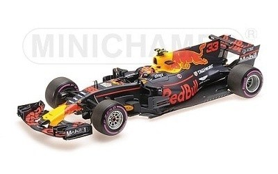 RED BULL RACING TAG-HEUER RB13 MAX VERSTAPPEN WINNER MEXICAN GP 2017 L.E. 240 PCS.