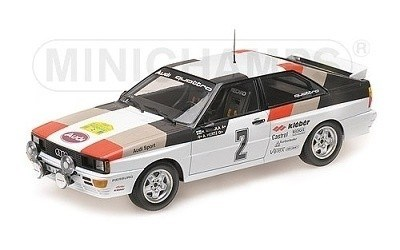 Audi Quattro Winner Rally Sweden 1981 Mikkola/Hertz Limited Edition 504 pcs.