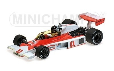 MCLAREN FORD M23 JAMES HUNT WORLD CHAMPION 1976