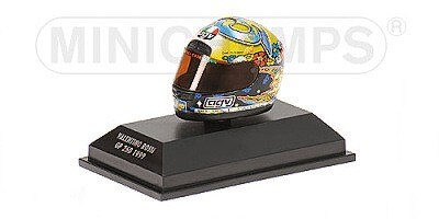 AGV HELMET VALENTINO ROSSI WORLD CHAMPION GP 250 1999