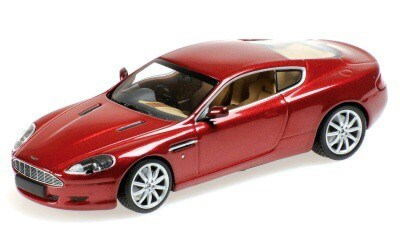 ASTON MARTIN DB9 2009 RED METALLIC L.E. 1392 pcs.