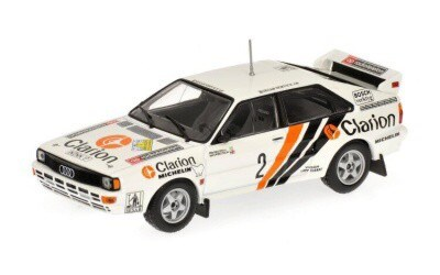 AUDI QUATTRO RALLY EKLUND / WHITTOCK SWEDISH RALLY 1984 L.E. 1104 pcs.