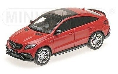 BRABUS 850 AUF BASIS MERCEDES-BENZ GLE 63 S 2016 RED L.E. 250 pcs.