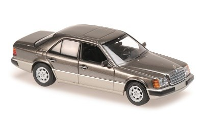 MERCEDES-BENZ 230E 1991 GREY METALLIC