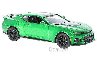 CHEVROLET CAMARO ZL1 2017 GREEN