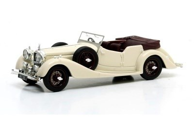 ALVIS 4,3 LITRE CROSS ELLIS TOURER 1938 WHITE