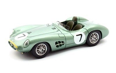ASTON MARTIN DBR1 #7 MOSS / BROOKS WINNER RAC TOURIST TROPHY 1958