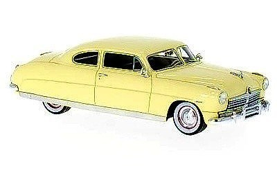 HUDSON COMMODORE COUPE 1948 BEIGE