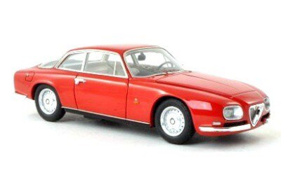 ALFA ROMEO 2600 SPRINT ZAGATO 1967 RED