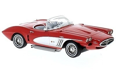 CHEVROLET CORVETTE XP-700 ROADSTER CONCEPT RED / SILVER