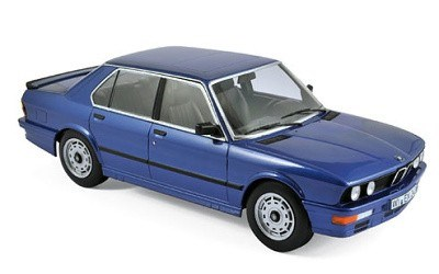 BMW M535i 1987 Blue metallic