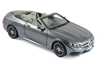 Mercedes-Benz S-Class convertible 2015 Grey metallic