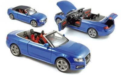 AUDI S5 CONVERTIBLE 2009 SPRINTBLAU PEARLEFFECT