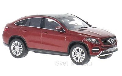 MERCEDES-BENZ GLE COUPÉ C292 RED