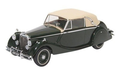 Jaguar Mk. V DHC Closed British Racing Green
