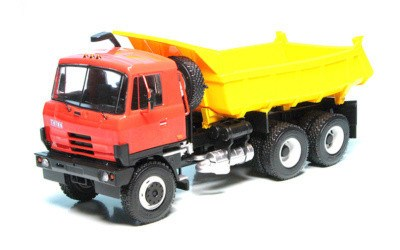 TATRA 815 S1 DUMPER RED / YELLOW