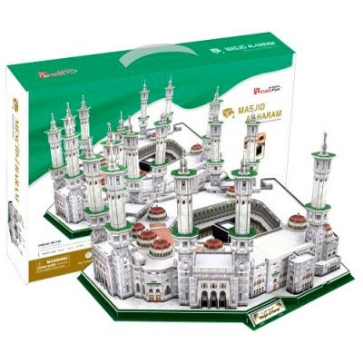 MASJID AL-HARAM PUZZLE 3D CUBIC FUN