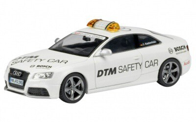 AUDI RS 5 SAFETY CAR DTM 2010 WHITE LIMITED EDITION 1000 PCS.