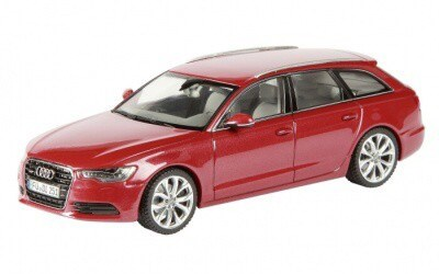 Audi A6 Avant red limited ediiton 1000 Pcs.
